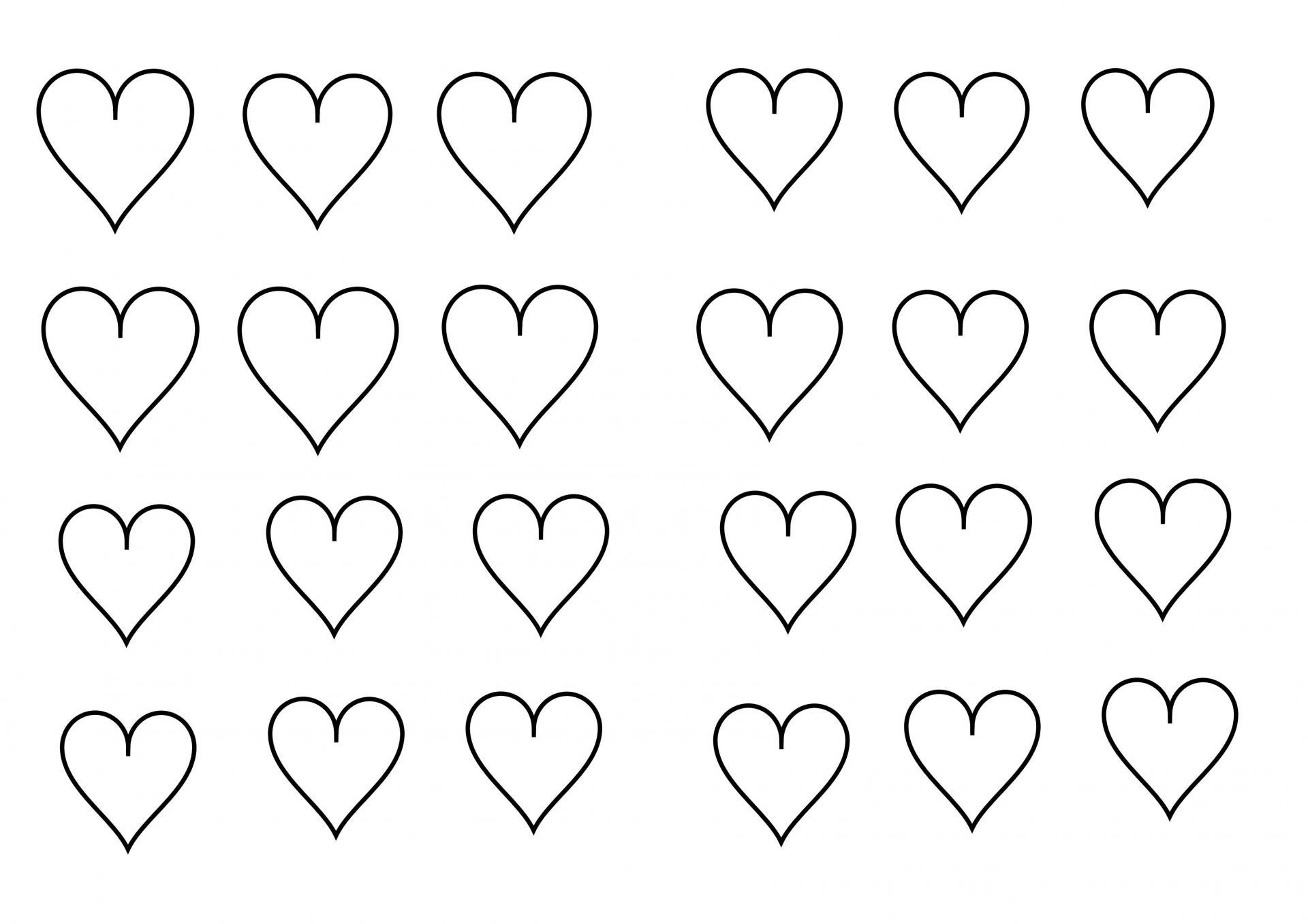 Coloriage petits coeurs - Image de coeur a colorier ...